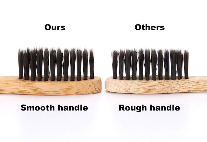 Isshah Biodegradable Eco-Friendly Natural Bamboo Charcoal Toothbrushes example