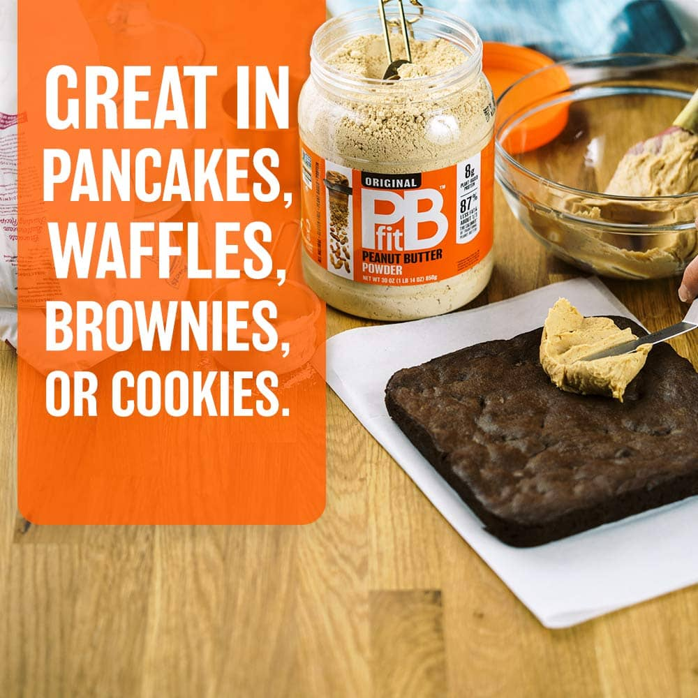 PB Fit peanut butter great in pancakes use case example