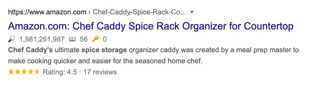 Chef Caddy google meta description